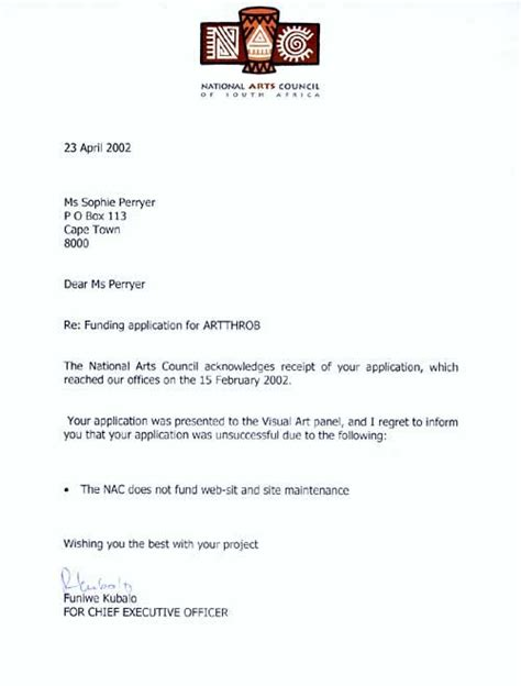 Petition Letter For Reposting Bid Rejection Letter Template