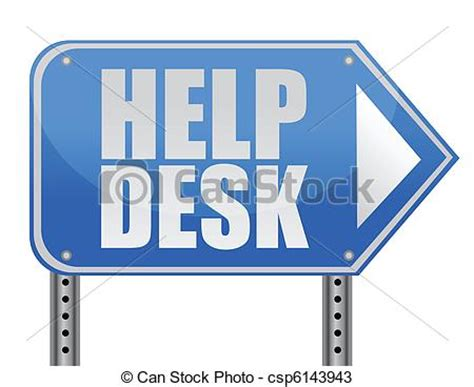 usd it help desk vectors of helping road sign support desk illustration