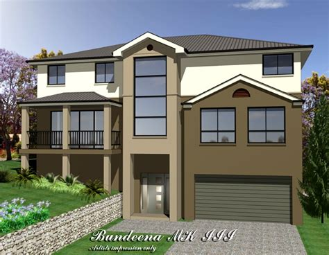 upslope house designs bundeena mkiii three storey upslope design home design