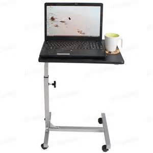 Adjustable Laptop Desk Stand New Stand Table Steel Height Adjustable Laptop Notebook Computer Desk Table Ebay