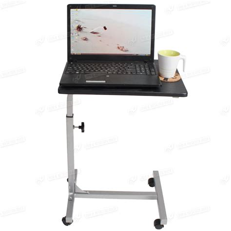 Laptop Adjustable Desk New Stand Table Steel Height Adjustable Laptop Notebook Computer Desk Table Ebay