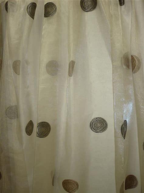 gardinen 3 meter lang organza gardinen stoff vorhang stores kreis modern