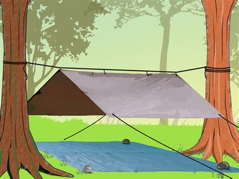 how to build a tent how to make a tent 6 easy steps with pictures wikihow