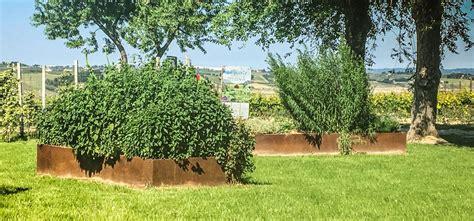 bordure per giardini bordure giardino all azienda agricola mapei un percorso