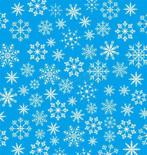 new year texture vector new year blue wallpaper snowflakes texture stock vector