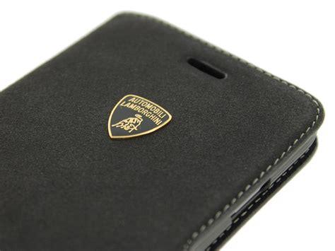 lamborghini alcatara wallet iphone 6 6s hoesje
