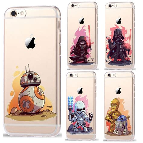 ruiccase star wars cartoon characters kyloren bb  phone case  apple iphone