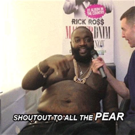 Rick Ross Meme - rick ross pears gif find share on giphy