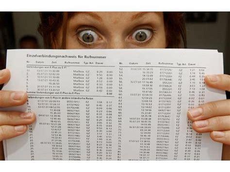 Beschwerdebrief Rechnung Zu Hoch Schockrechnung Wie Sie Richtig Auf Hohe Handyrechnungen Reagieren Teltarif De News