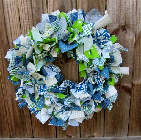 diy fabric wreath tutorial diy craft projects