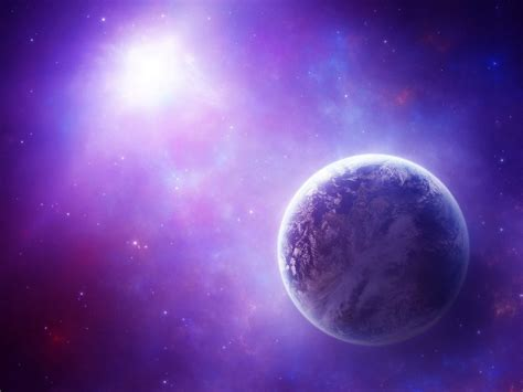 energy field  violet light