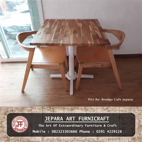 membuka usaha furniture terlaris kursi meja makan scandinavian jati laminasi