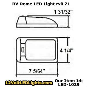 what size resistor for led dome light 12 volt led dome lights with switches for boat rv and other 12 volt vehicles