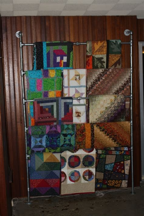 Quilt Rack Display by 25 Best Ideas About Quilt Racks On Quilt
