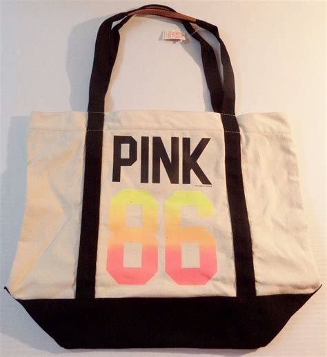 Benefit I Pink I You Bag s secret pink 86 travel totes shoppers bag ebay