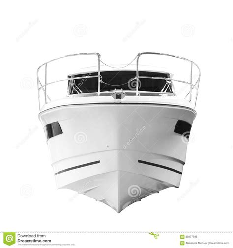bow of a boat the image of an passenger motor boat bow of the ship