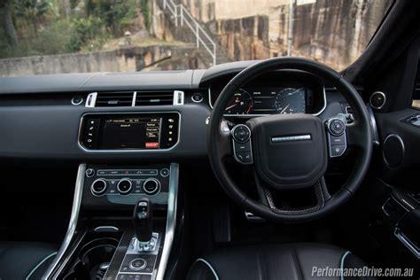land rover sport interior 2016 range rover sport svr review performancedrive