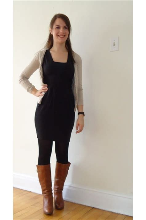 brown steve madden boots black wifred dresses black