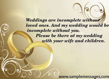 my marriage invitation sms through mobile invitation images bumper stickers messages sle messages