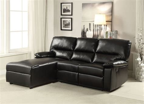 leather motion sectional sofa artha black bonded leather motion sectional sofa chaise