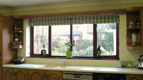 Kitchen Curtains And Blinds Coppy Bridge Blinds 187 Blind In Milnrow For A Kitchen