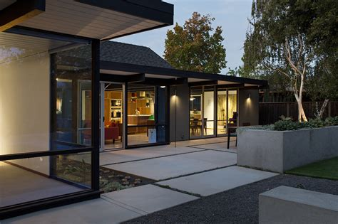 architect joseph eichler style house home renewed classic eichler by klopf architecture