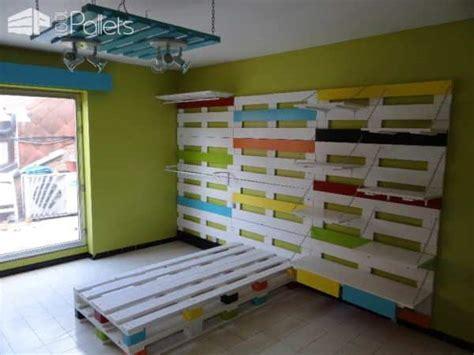 chambre enfant palette chambre enfant compl 232 te en palettes pallets room