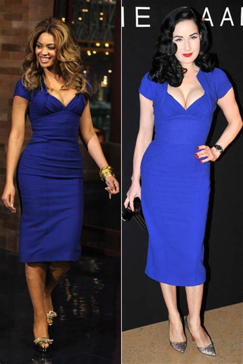 Who Wore Elie Saab Better Solange Knowles Or Dita Teese by Who Wore It Best Beyonce Vs Dita