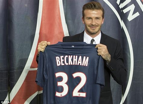 david beckham biography in french david beckham inducted into psg hall of fame daily mail