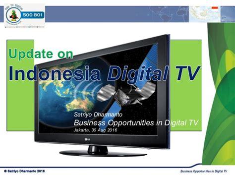 Tv Digital Indonesia Update On Indonesia Digital Tv Market 2016