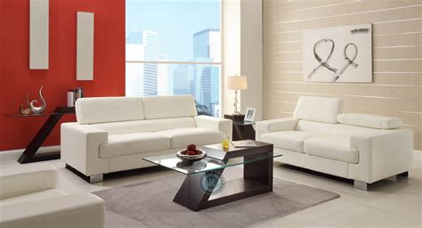 white living room furniture set vernon white living room set from homelegance 9603wht 3 2