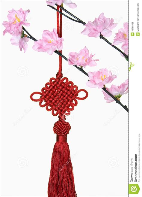 new year blossom tree blossom tree and new year hanging decoration