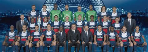 Calendrier Psg L Equipe Psg Photo Officielle 2013 2014 Football Tennis Vid 233 Os