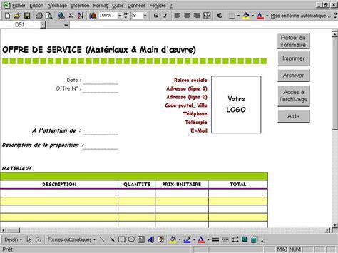Modèle Bon De Commande Excel