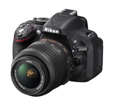 Nikon D5200 Lensa Kit 18 55mm 24 1 Mp camara nikon d5200 24 1 mp kit con 18 55mm f 3 5 5 6g vr
