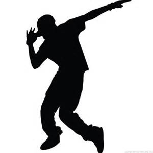 figures wall decals wall decal hip hop dancer ambiance