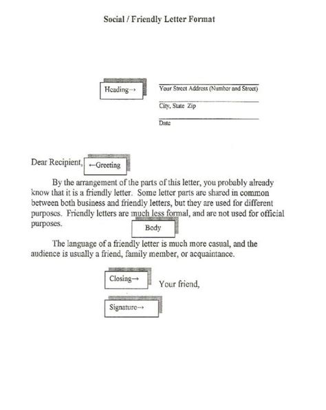 business letter with conventional heading exle of conventional heading letter what i learn in