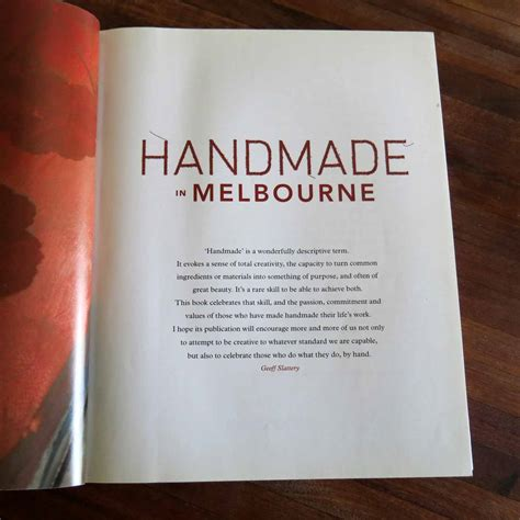 Handmade In Melbourne - the inspiration a light a light