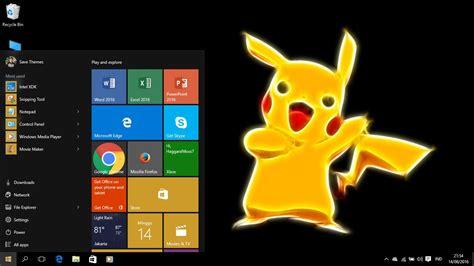 korean themes for windows 8 1 pikachu theme for windows 8 and 10 windows 10 themes