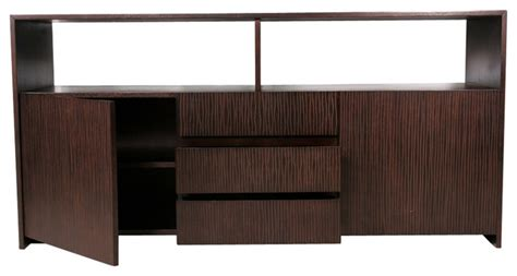 sideboards and buffets contemporary quot garis quot open sideboard contemporary buffets and