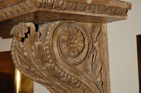 Oak Corbels For Sale 19th Carved Wooden Corbel For Sale At 1stdibs