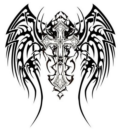 tribal religious tattoos 25 fantastic tribal christian tattoos