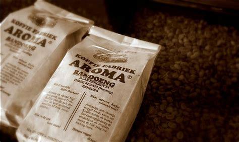 Kopi Aroma Koffie Fabriek Aroma Robusta 500gr koffie fabriek aroma kopi legendaris di bandung bandung