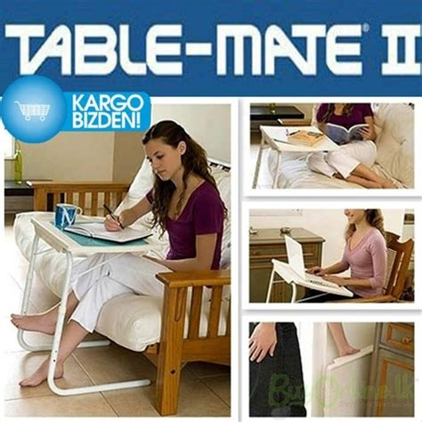 table mate as seen on tv table mate 2 portable adjustable folding table
