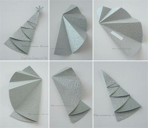 Tree Paper Folding - folding paper tree ideas