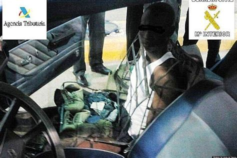 A Desperate Ruse human car seat fails to trick guards at moroccan