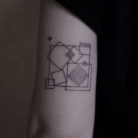 black square tattoo 17 best ideas about square on optical
