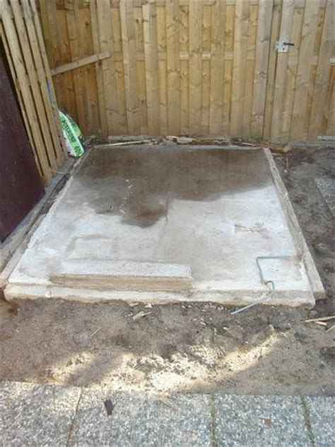 tuinhuis vloer storten tuinman gezocht rotterdam storten betonnen vloer voor