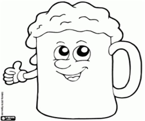 to drink coloring pages printable games