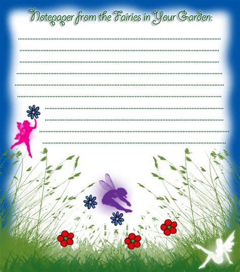notepaper   fairies   garden rooftop post